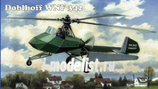 48-008 AMP 1/48 Doblhoff WNF 342 German WW II helicopter
