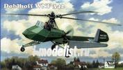48-008 AMP 1/48 Doblhoff WNF 342 German WW II helicopter