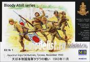 MasterBox 1/35 3542 Japanese Imperial Marines, Tarawa, November 1943