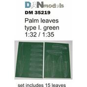 DM35219 DANmodel 1/35 Набор зеленых пальмовых листьев