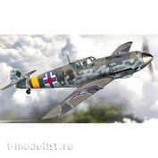 """AZ7662 AZModel 1/72 Истребитель Bf 109E-4 """"In Slovak service"""""""