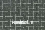 87169 Tamiya Diorama Диорам. лист А4 (кирп. кладка серая) (Diorama Material Sheet (Grey coloured Brickwork A))