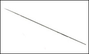 5149 Jas Игла для аэрографа: диаметр: 1,0 мм, длина: 78 мм
