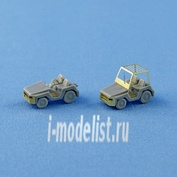 NS144003 North Star 1/144 Toyota 2 TD 25 - airport tractor (2 pcs. In a set)