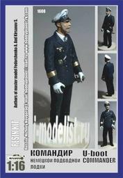 1608 Capitan 1/16 Командир немецкой подводной лодки (U-boot Commander)