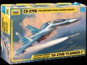 7294 Звезда 1/72 Российский учебно-боевой самолёт Су-27УБ