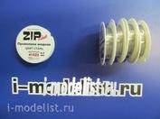 41522 ZIPMaket Проволка медная 0,3 мм, 10 метров (цвет сталь)