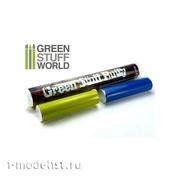 1018 Green Stuff World Шпаклёвка Green Stuff, 100 гр. / Green Stuff Bar 100 gr.