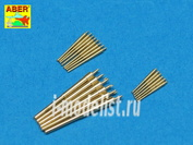 700 L-32 Aber 1/700 Пушечные стволы для Set of Barrels for Admiral Graf Spee class battleships 280mm x 6; 150mm x 8; 105mm x 6