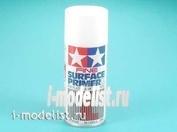 87044 Tamiya Fine Surface Primer L (White) грунтовка аэрозоль белая 180мл