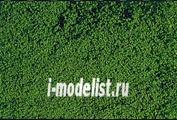 1602 Heki Материалы для диорам Травяной покров, мелкий ворс темно-зеленый 28x14 см