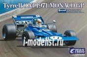 20007 Ebbro 1/20 Tyrrell 003 Monaco GP 1971
