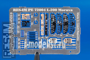 PE72004 RES-IM 1/72 Фототравление для L-200 Morava