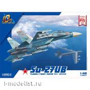 L4827 Great Wall Hobby 1/48 Самолет Su-27UB Flanker-C