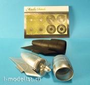 MD4831 Metallic Details 1/48 Двигатели для S-3A Viking (Italeri)