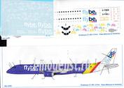 195-008 Ascensio 1/144 Декаль на самолет Embraer 195