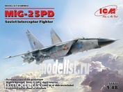 48903 ICM 1/48 Советский истребитель-перехватчик МuГ-25ПД