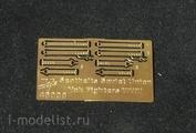 48008 Vmodels 1/48 Фототравление для Seatbelts Soviet Union Yak Fighters WWII