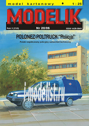 MD20/06 Modelik 1/25 Polonez