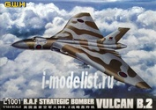 L1001 Great Wall Hobby 1/144 RAF Strategic Bomber Vulcan B.2