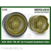 35234 Miniarm 1/35 Катки и ленивцы для Тор-М2
