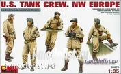 35070 MiniArt 1/35 Us tank crew