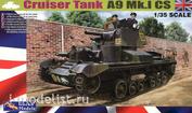35GM0004 Gecko Models 1/35 Cruiser Tank Mk. I CS, A9 Mk.ICS