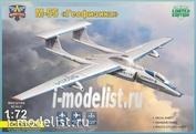 72055 Modelsvit 1/72 Reconnaissance aircraft M-55