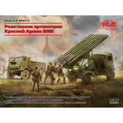 DS3512 ICM 1/35 Red Army Rocket Artillery IIMB