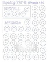 14710 KV Models 1/144 Маски на диски и колеса Boing 747-800