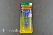09984 Trumpeter Удерживающий/направляющий штифт для силиконовых форм (S) голубой
