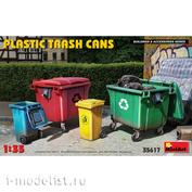 35617 MiniArt 1/35 Plastic Trash Cans