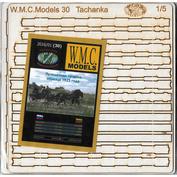 WMC-30L W.M.C. Models 1/5 Machine gun wheelbarrow model 1925 (laser cutting)