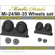MDR7248 Metallic Details 1/72 Wheel Set for Mu-24/Mu-35