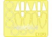 EX093 Eduard 1/48 Маска для EE Lightning