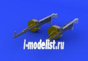 632071 Eduard 1/32 дополнение к модели MG 14/17 Parabellum WW1 gun