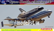 14705 Dragon 1/144 Space Shuttle w/ Boeing 747-100