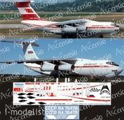 I76-006 Ascensio 1/144 Decal for Il-76TD Il-76TD (Aeroflot polar (Red))