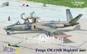 72087 Valom 1/72 Fouga CM170R Magister (BAF)