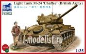 CB35068 Bronco 1/35 M24 'Chaffee'(British Version)