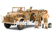 35305 Tamiya 1/35 Немецкий автомобиль Steyr Type 1500A/01 с 4 фигурами. Африканский корпус.