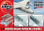 65000 Airfix 1/72 Набор дополнений Vickers Valiant B(PR)K Mk.1/ B(K)Mk.1 Photo-Reconnaissance and Refueller Parts