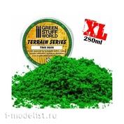 9075 Green Stuff World Clumps of Shrub foliage-Medium Green, 280 ml / Tree Bush Clump Foliage - Medium Green - 280 ml