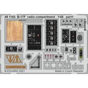 491182 Eduard 1/48 Фототравление для B-17F, радио отсек