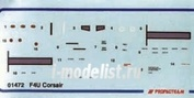 01472 Propagteam 1/72 Stencils F4U Corsair