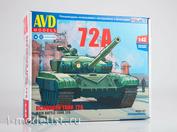 3014AVD AVD Models 1/43 Main battle tank T-72A