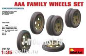 35112 MiniArt 1/35 AAA FAMILY WHEELS SET