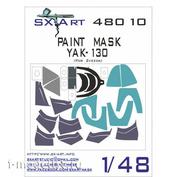 SX48010 SX-Art 1/48 Painting mask Yak-130 (for model Zvezda)