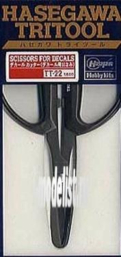 71222 Hasegawa Ножницы для работы  с декалями