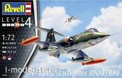 03879 Revell 1/72 Истребитель F-104 G Starfighter NL/B